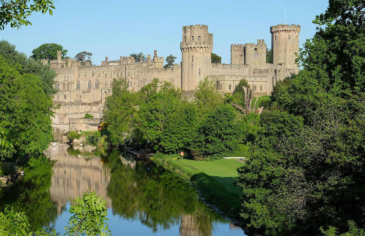 English Medieval Castles: Warwick Castle