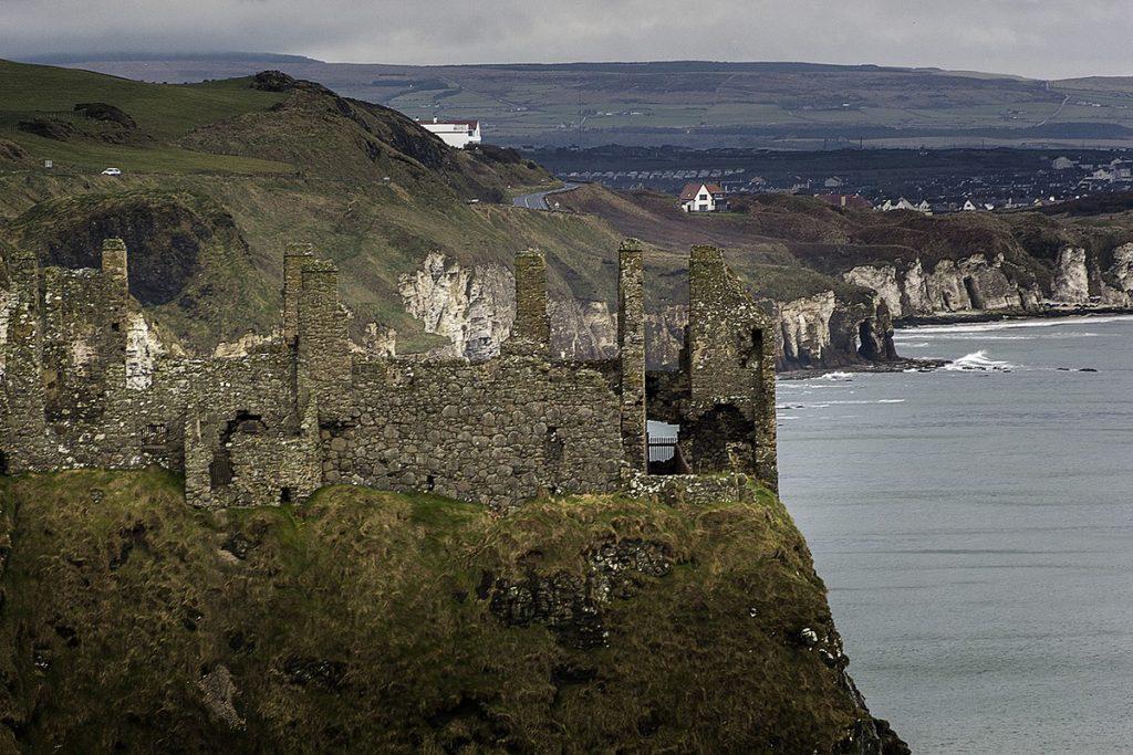 A view of Dunluce Castle.