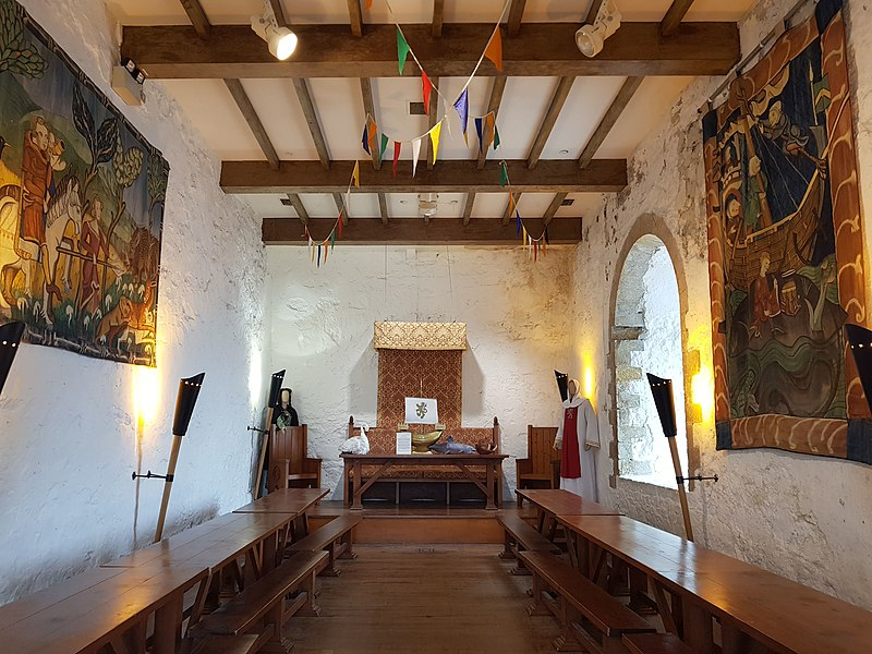 Carrickfergus Castle Interior.