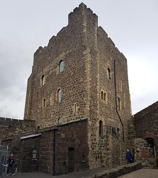 Carrickfergus Castle, View.