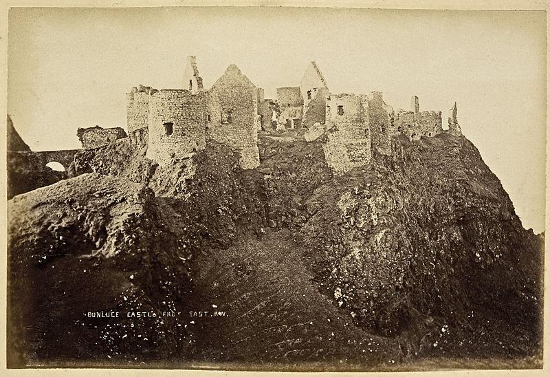 Dunluce Castle c.1888, R. Welch.