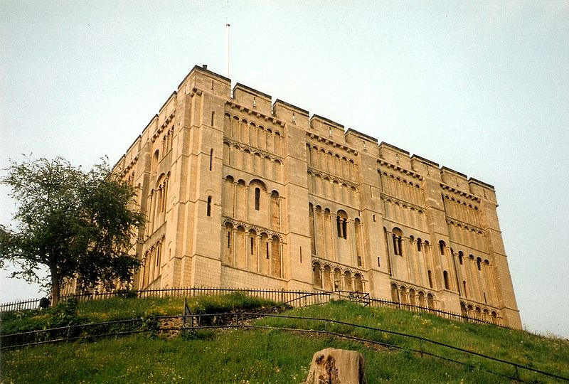 English Medieval Castles: Norwich Castle