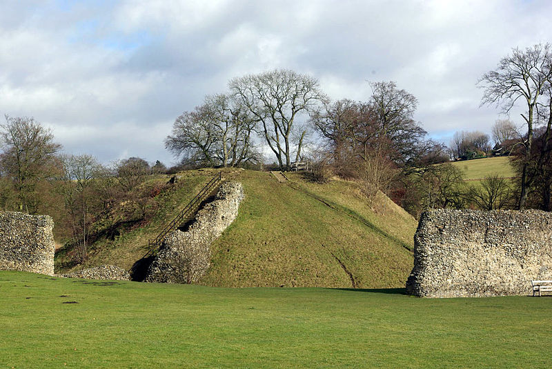 Medieval Britain: Berkhamsted Castle. History, Facilities.