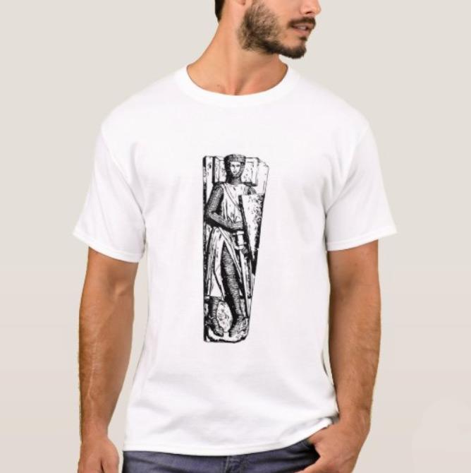 Medieval Knight Effigy T-Shirt