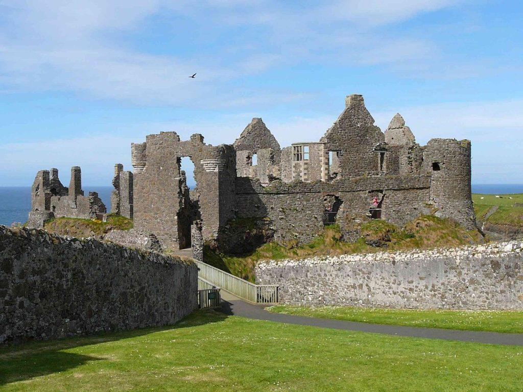Medieval Northern Ireland Castles: Dunluce Castle