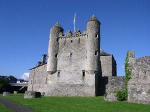 Northern Ireland Castles: Enniskillen Castle.