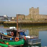 Northern-Ireland Medieval Towns: Carrickfergus