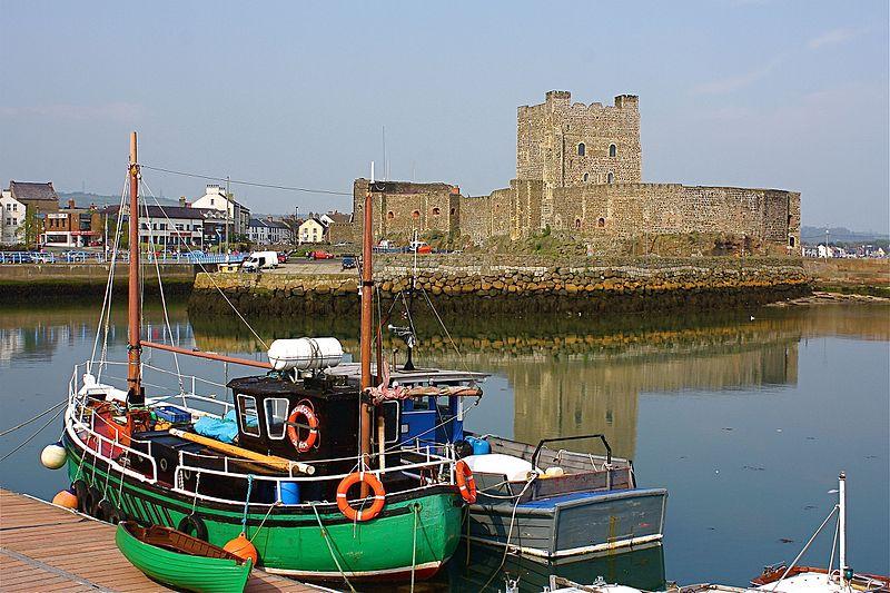 Northern-Ireland Medieval Towns: Carrickfergus