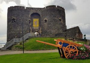 Medieval Northern Ireland Castles: Carrickfergus Castle