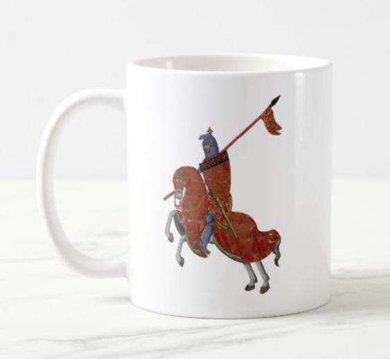 Red Knight Mug