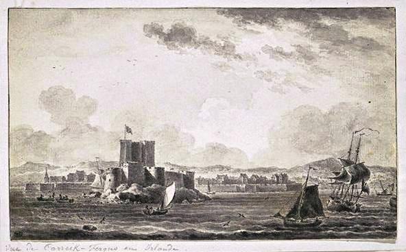 View of Carrickfergus in the late eighteenth century.