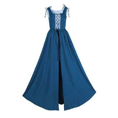 Medieval Style Overdress in Blue