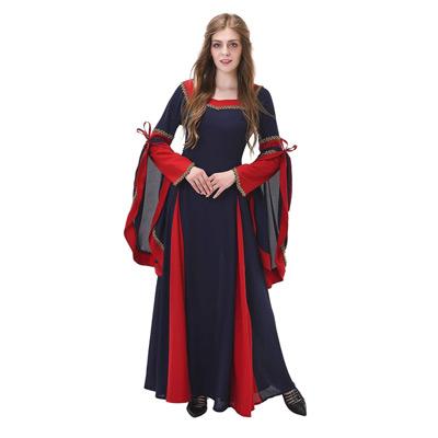Medieval Style High Waistline Dress