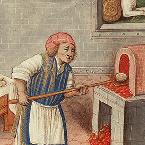 Medieval Occupations and Jobs: Baker.