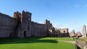 Scottish Medieval Castles: Tantallon Castle
