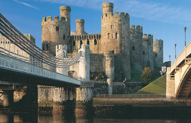 Medieval Wales: Conwy Castle.