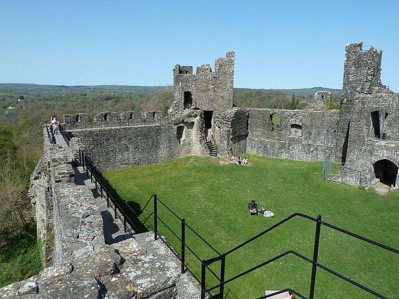 Dinefwr Castle panorama.