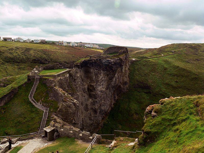 Medieval British Castles: Tintagel