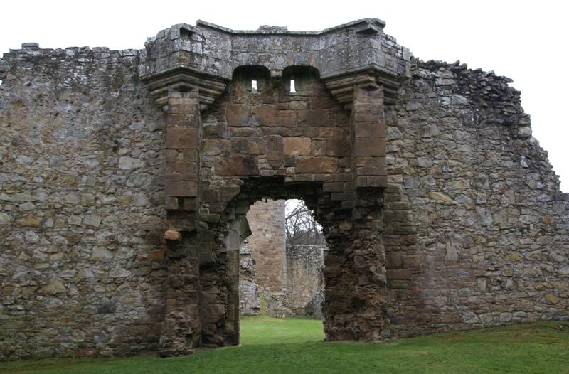 Spynie Palace East Gate