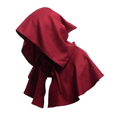 Medieval Cowl Hat Cross Hood
