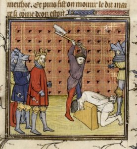 Medieval executioner - Medieval jobs