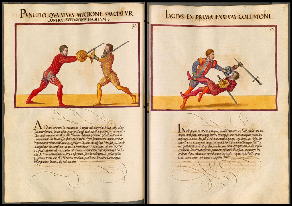 Mair, Paul Hector: De arte athletica II - BSB Cod.icon. 393(2)