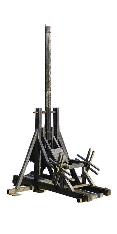 Medieval Weapons: Trebuchet