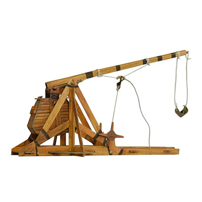 War Games Trebuchet Cardboard Set