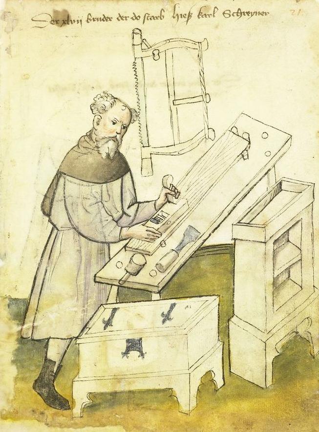 A 15th century carpenter.