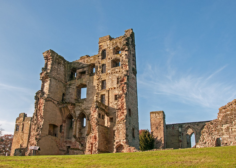 Ashby de la Zouch Castle - Image courtesy of Flickr Commons, Author: bvi4092