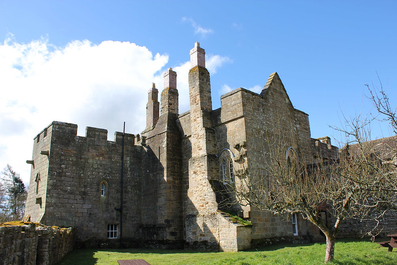Aydon Castle. Image courtesy of Flickr Commons, Author: Mr. Evil Cheese Scientist