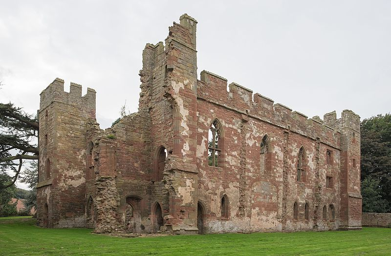 British Medieval Castles: Acton Burnell Castle