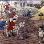 Medieval Occupations and Jobs: Farmer.