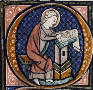 Medieval Occupations and Jobs: Scribe.