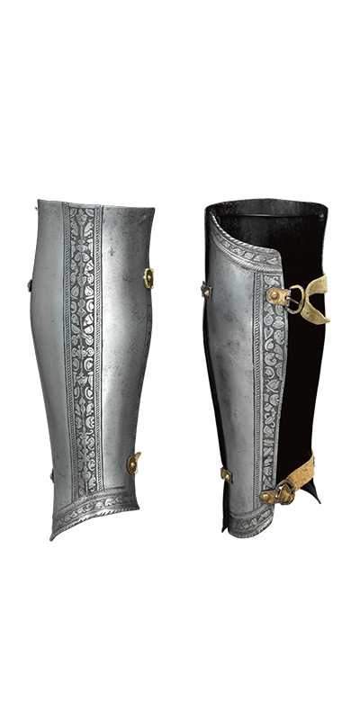 Medieval Weapons and Armour: Greaves