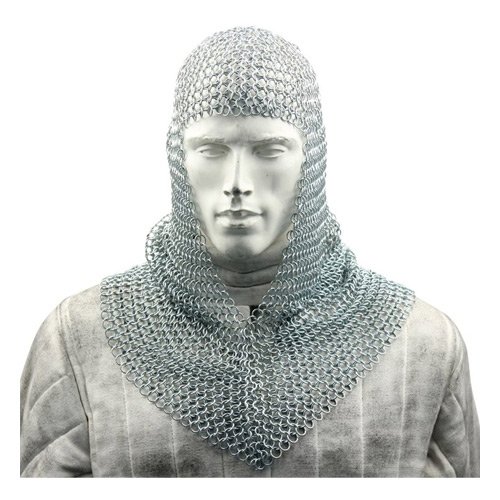 Medieval mail coif 1