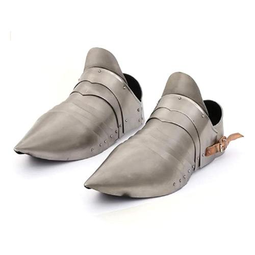 Armor Shoes Pair Medieval Knight Steel Armor Sabaton