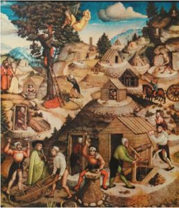Medieval Occupations and Jobs: Miner.