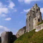 British Castles: Corfe Castle.