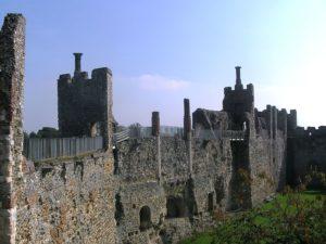 Medieval Britain: Framlingham Castle. Image courtesy of Wikimedia.