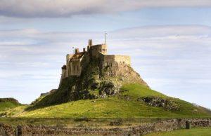 British Medieval Castles: Lindisfarne Castle. Image courtesy of Wikimedia.