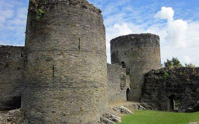 Medieval Cardigan, Wales: Cilgerran Castle
