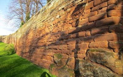 Part of City Wall from County Hall