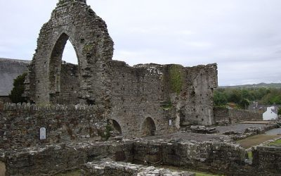 Medieval Cardigan, Wales: St. Dogmaels Abbey