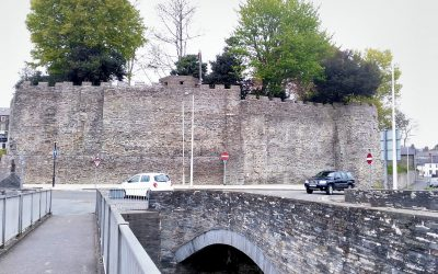 Medieval Cardigan, Wales: Cardigan Castle