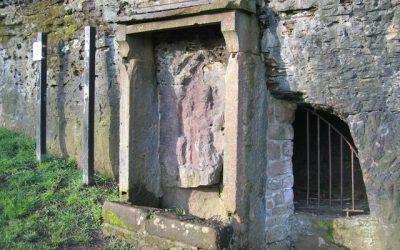 Roman shrine to Minerva