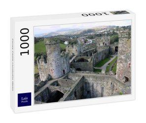 Lais Jigsaw Conwy Castle Llundudno Wales 1000 Pieces