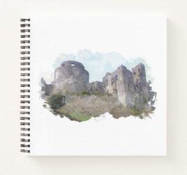 Dinefwr Castle Notebook