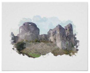 Dinefwr Castle Poster