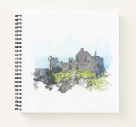 Dunluce Castle Notebook